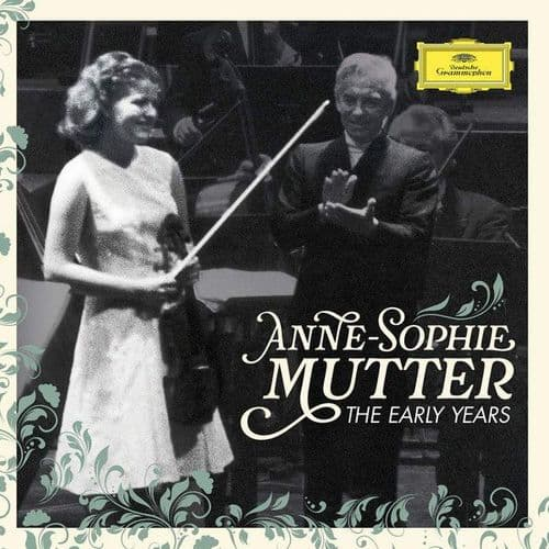 Anne-Sophie Mutter<br>The Early Years<br>3CD, Comp, DL, RE + Blue-ray, Blue-ray-A, Comp
